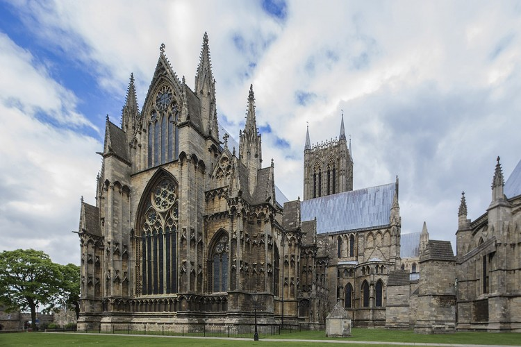 Lincoln Cathedral - East Elevation